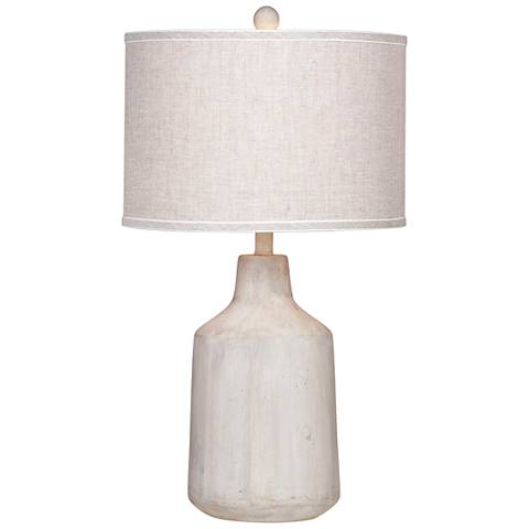 Dalton Natural Cement Table Lamp