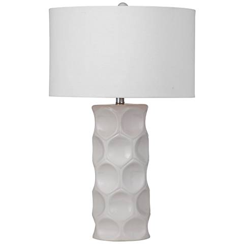 Cassidy Cream Ceramic Table Lamp