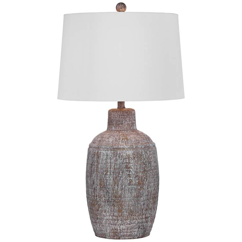 Libby Cream Antique Wash Table Lamp