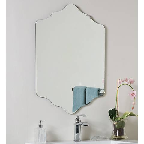 "Vandam 23 1/2"" x 31 1/2"" Novelty Frameless Wall Mirror"
