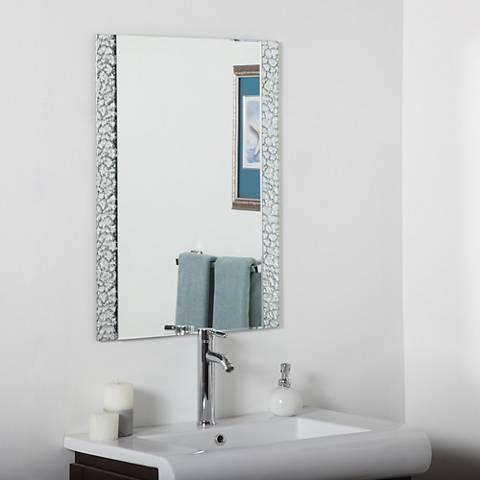 """Sierra 23 1/2"""" x 31 1/2"""" Vanity Bathroom Wall Mirror"""