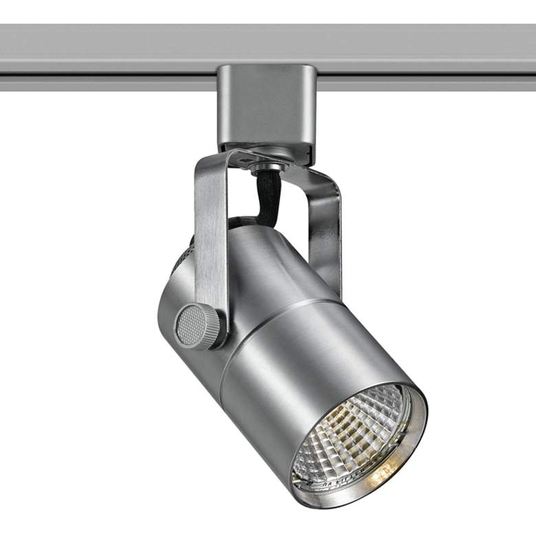 Brushed Steel 10W 650 Lumen LED Track Head