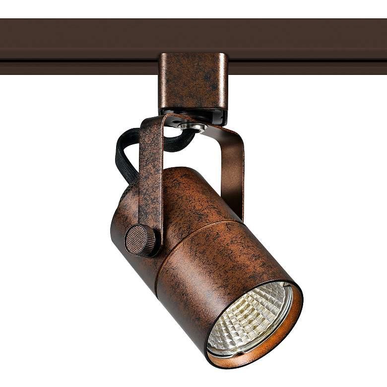 Rust 10 Watt 650 Lumen LED Track Head for Halo System