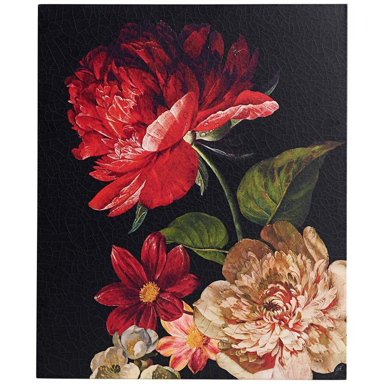 """Dutch Garden XIII 31"""" High Wall Art"""