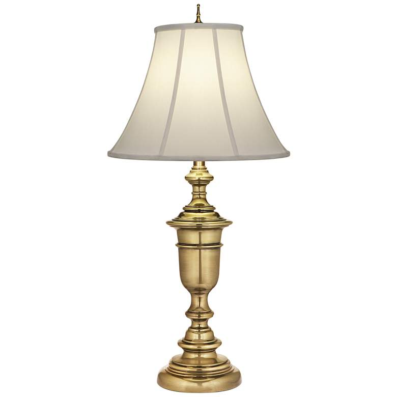 Stiffel Burnished Brass Table Lamp