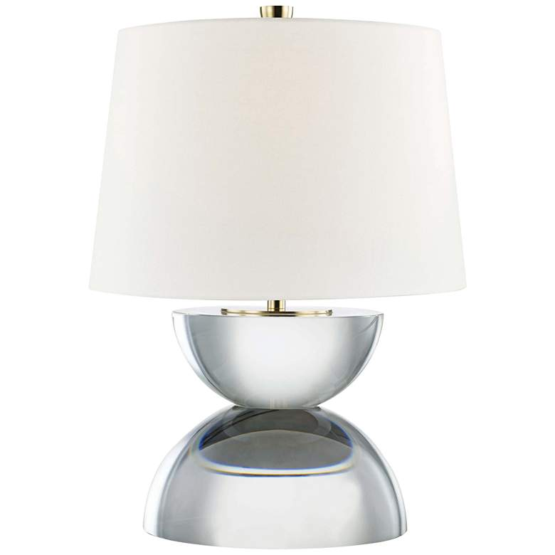 "Hudson Valley Caton 17 1/2"" High Clear Accent Table Lamp"