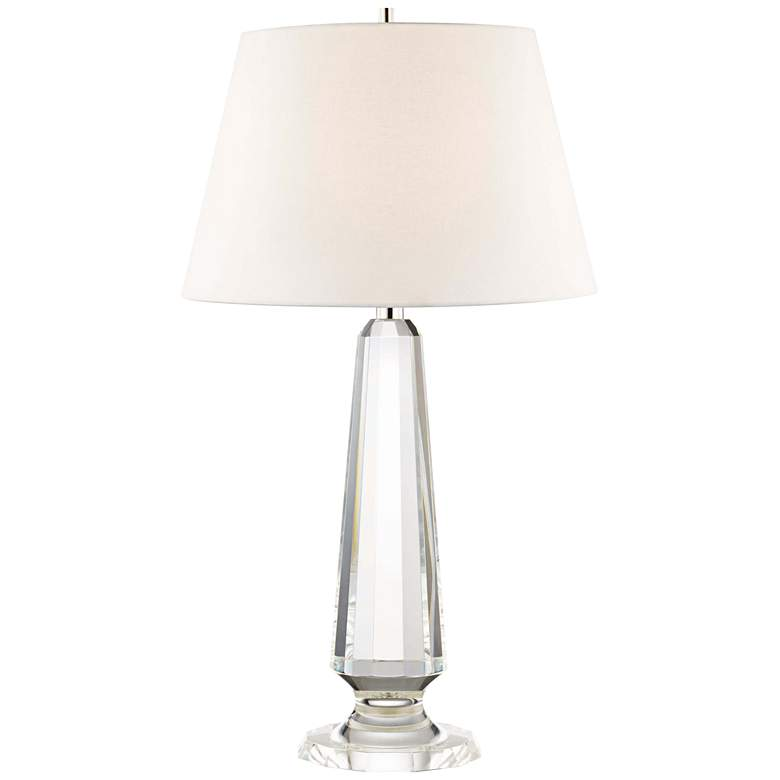 Hudson Valley Hazlitt Clear Crystal Table Lamp