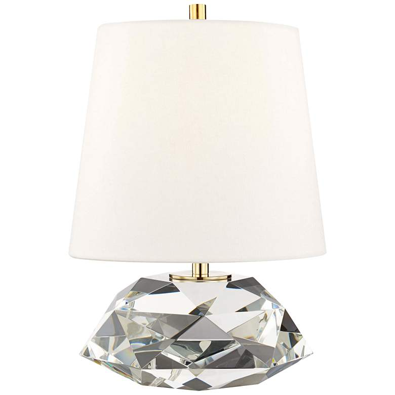"Hudson Valley Henley 13 1/2"" High Clear Accent Table Lamp"