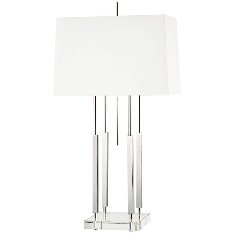Hudson Valley Rhinebeck Polished Nickel Table Lamp