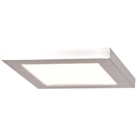 "Boxer 5 1/2"" Wide White LED Ceiling Light"