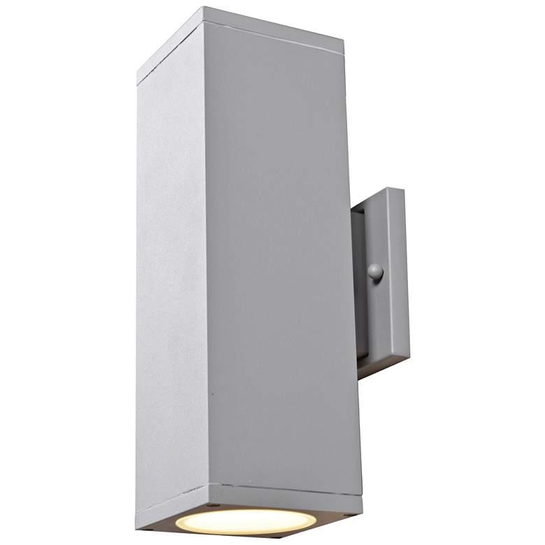 "Bayside 12"" High Satin LED Outdoor Wall Light"
