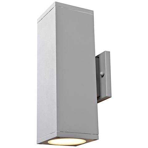 "Bayside 12"" High Satin LED Outdoor Wall Light"