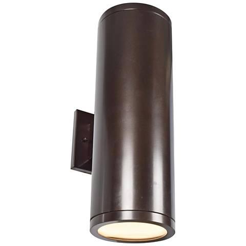 "Sandpiper 18"" High Bronze LED Outdoor Wall Light"