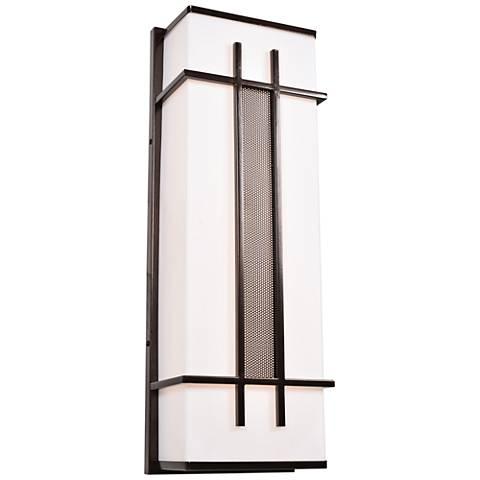 """Tuxedo 36"""" High Bronze LED Outdoor Wall Light"""