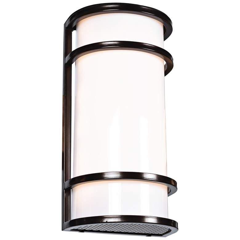 """Cove 12"""" High Bronze LED Outdoor Wall Light"""