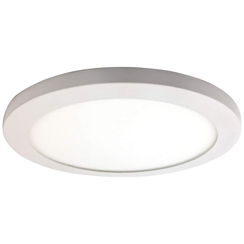 "Disc 9 1/2"" Wide White Round LED Ceiling Light"