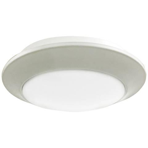 "Relic 9 1/4"" Wide White LED Ceiling Light"