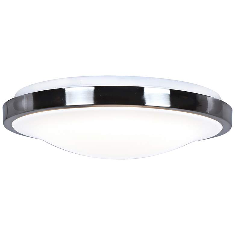 "Lucid 16"" Wide Chrome LED Ceiling Light"