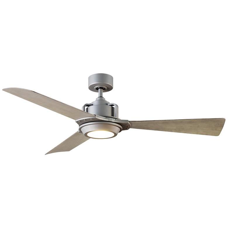 "56"" Modern Forms Osprey Graphite LED Wet Ceiling Fan"