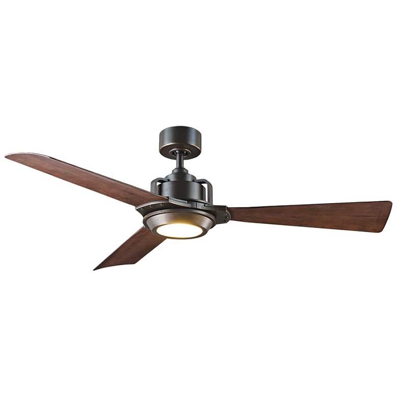 "56"" Modern Forms Osprey Bronze Wet LED Ceiling Fan"