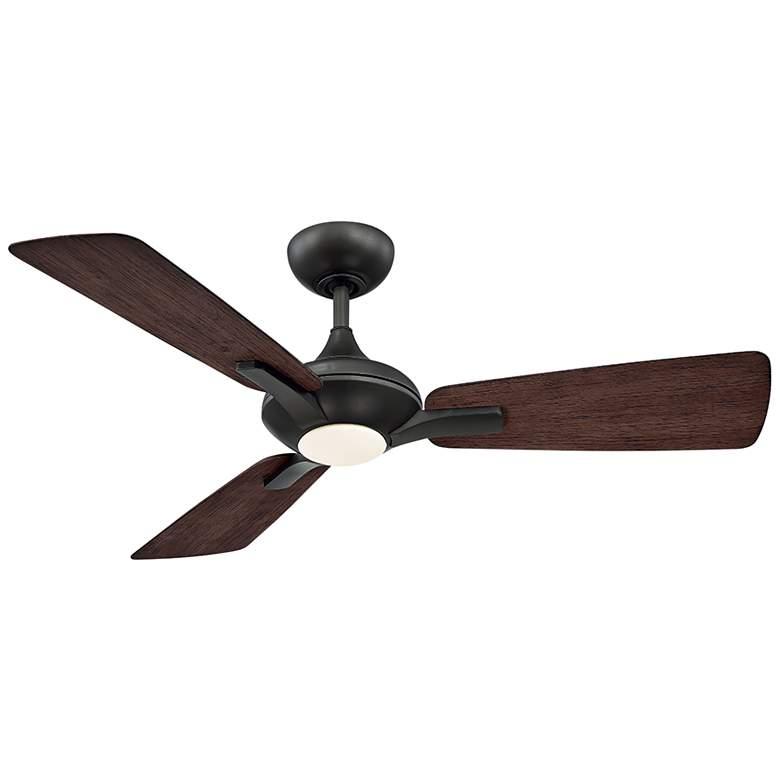 """52"""" Modern Forms Mykonos Bronze LED Wet Ceiling Fan"""