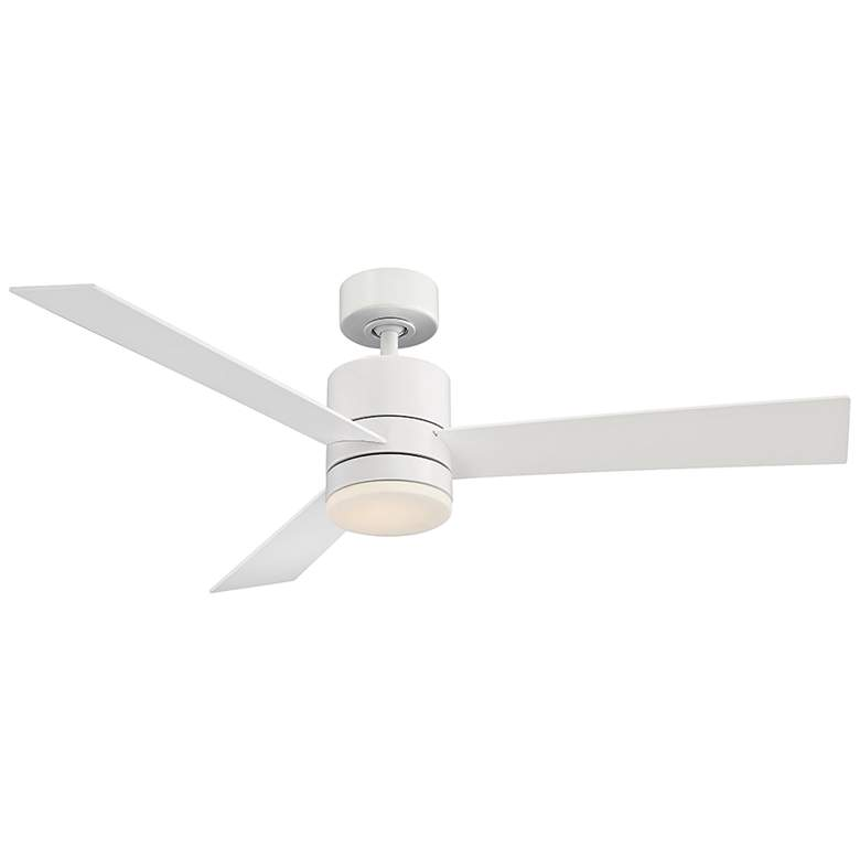 """52"""" Modern Forms Axis Matte White LED Wet Ceiling Fan"""