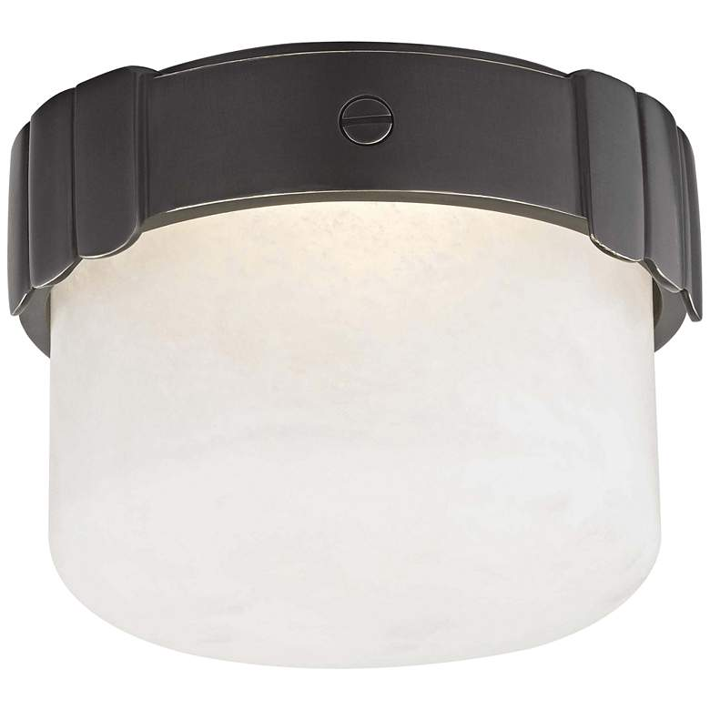 "Hudson Valley Beckett 6"" Wide Old Bronze LED Ceiling Light"