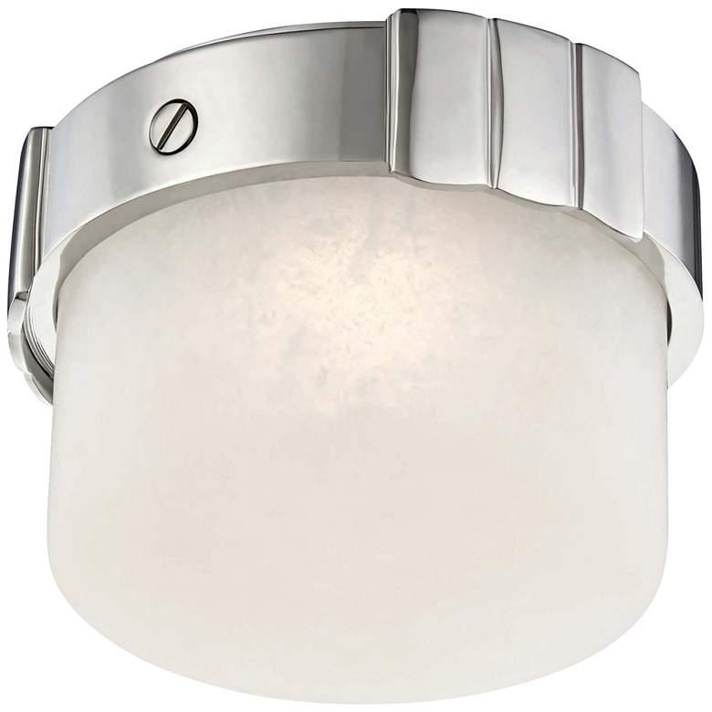 "Hudson Valley Beckett 6""W Polished Nickel LED Ceiling Light"