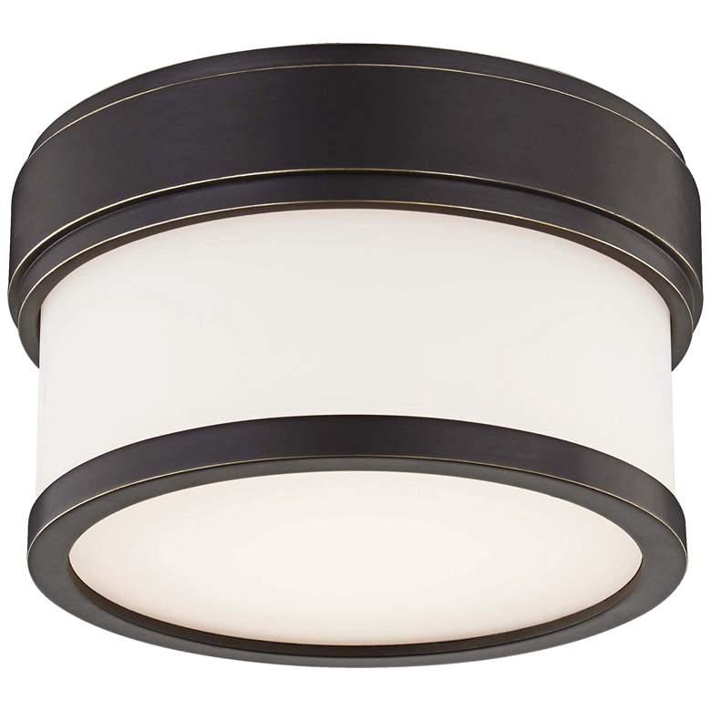 """Hudson Valley Gemma 5"""" Wide Old Bronze LED Ceiling Light"""