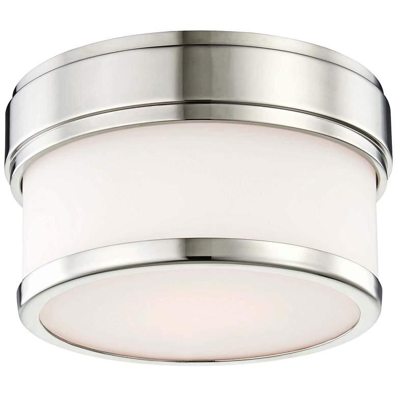 """Hudson Valley Gemma 5""""W Polished Nickel LED Ceiling Light"""