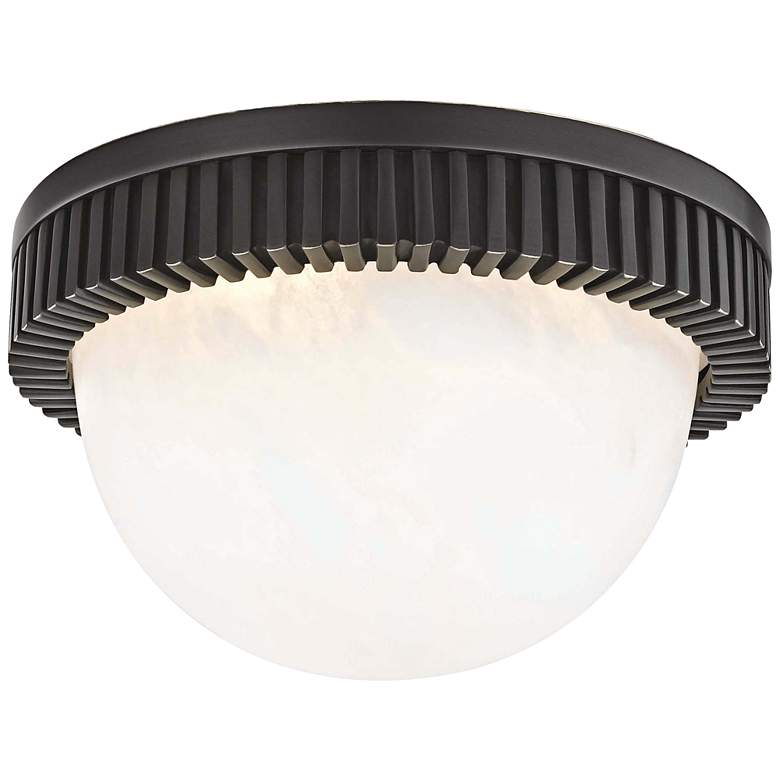 """Hudson Valley Ainsley 5"""" Wide Old Bronze LED Ceiling Light"""