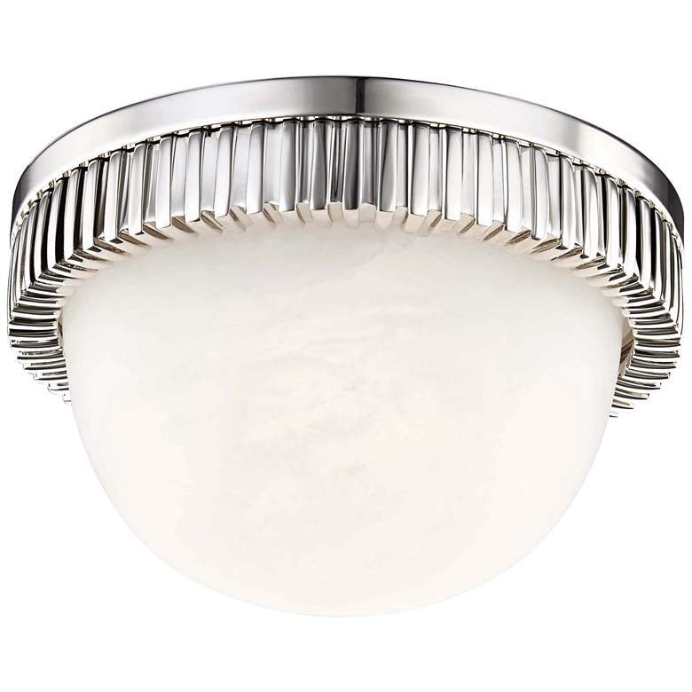 """Hudson Valley Ainsley 5""""W Polished Nickel LED Ceiling Light"""