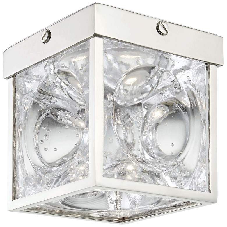 """Hudson Valley Calvin 5""""W Polished Nickel LED Ceiling"""