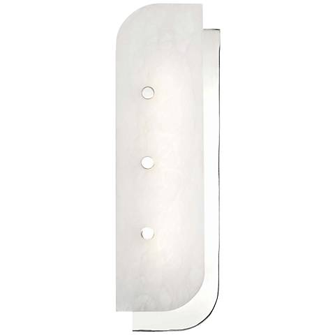 "Hudson Valley Yin and Yang 18 1/2"" High Nickel LED Wall Sconce"