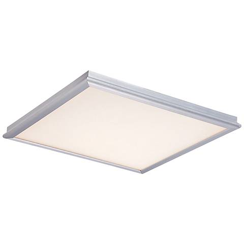 """Modern Forms Neo 12"""" Wide Brushed Aluminum LED Ceiling Light"""