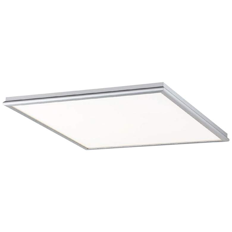 """Modern Forms Neo 18"""" Wide Brushed Aluminum LED Ceiling Light"""