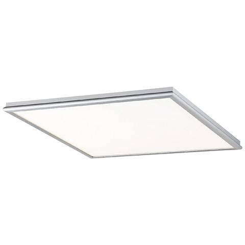"Modern Forms Neo 18"" Wide Brushed Aluminum LED Ceiling Light"