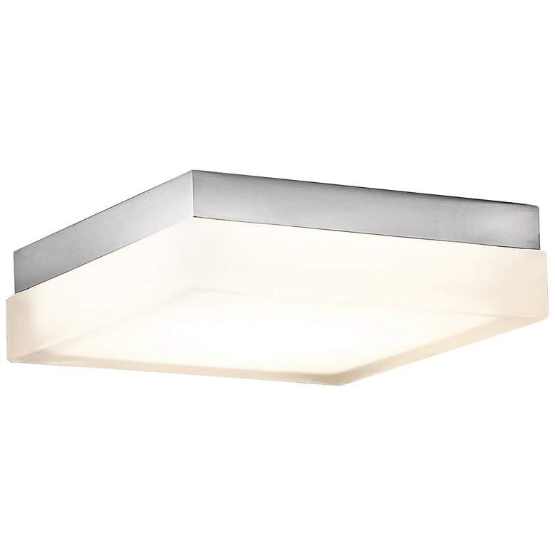 "Modern Forms Matrix 9"" Wide Titanium LED Ceiling Light"