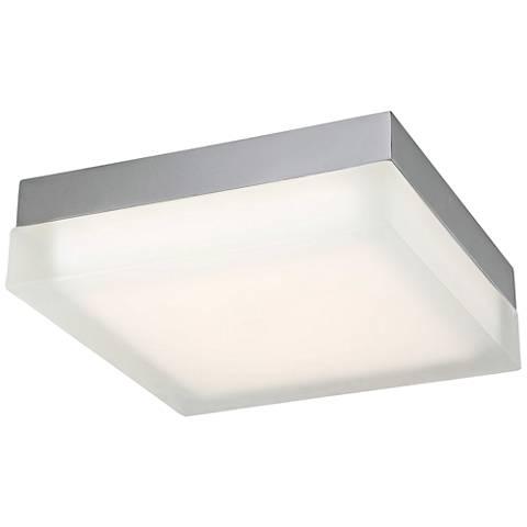 "Modern Forms Matrix 12"" Wide Titanium LED Ceiling Light"