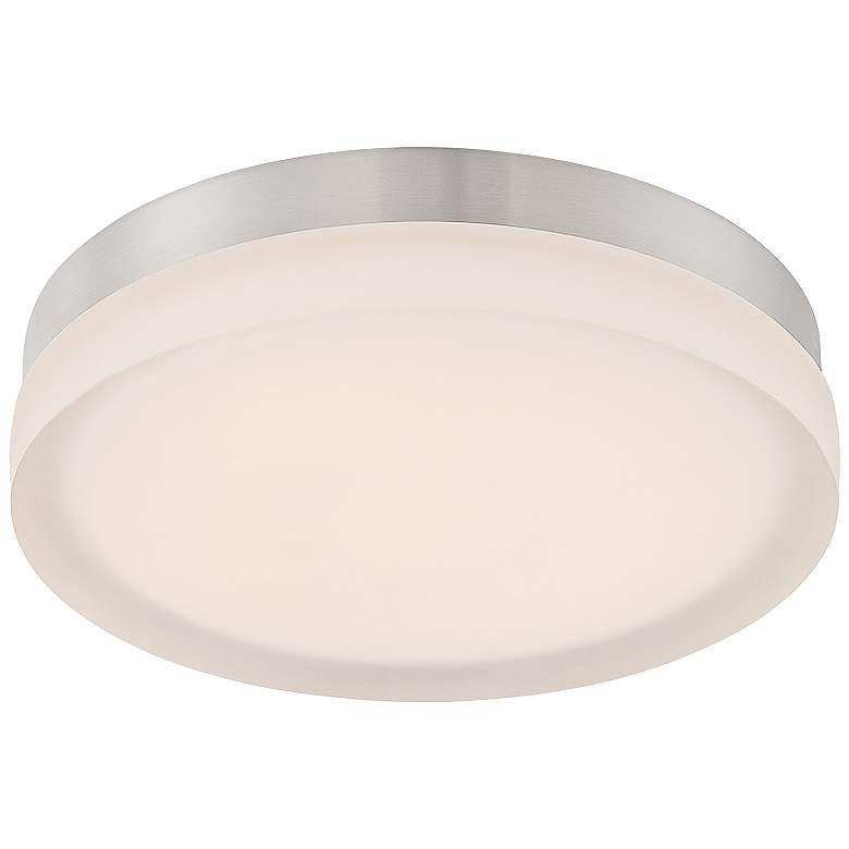 "Modern Forms Circa 11"" Wide Titanium LED Ceiling Light"