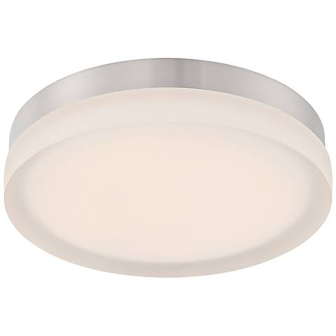 "Modern Forms Circa 11"" Wide Titanium LED Ceiling Light"