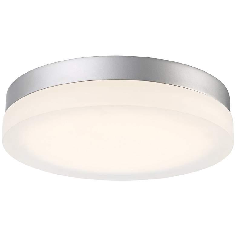"Modern Forms Circa 15"" Wide Titanium LED Ceiling Light"