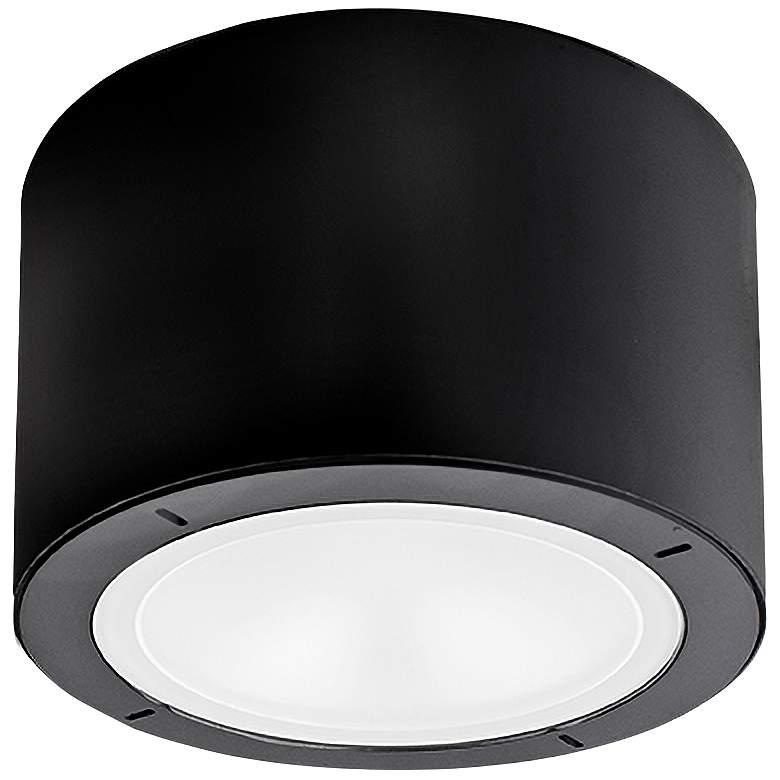 "Modern Forms Vessel 5 1/2""W Black LED Outdoor Ceiling Light"