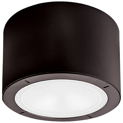 """Modern Forms Vessel 5 1/2""""W Bronze LED Outdoor Ceiling Light"""