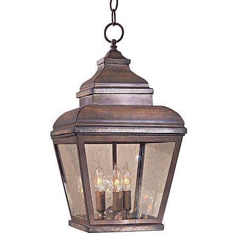 """Mossoro  19"""" High Outdoor/Indoor Hanging Light"""