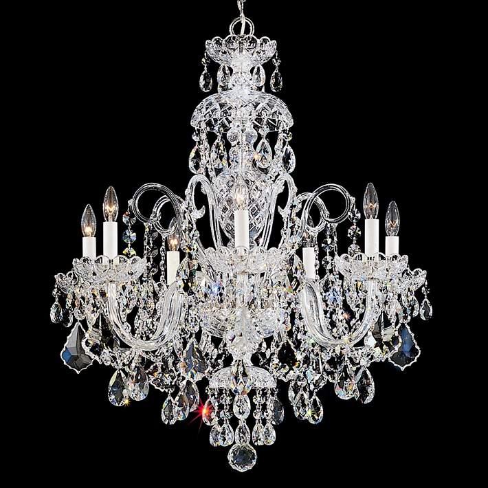 Schonbek Olde World 25 Wide Swarovski Crystal Chandelier 59545 Lamps Plus