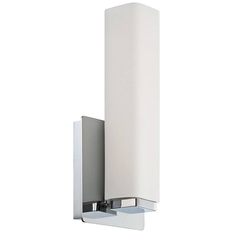 """Modern Forms Vogue 11"""" High Chrome LED Wall Sconce"""