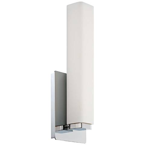 "Modern Forms Vogue 15"" High Chrome LED Wall Sconce"