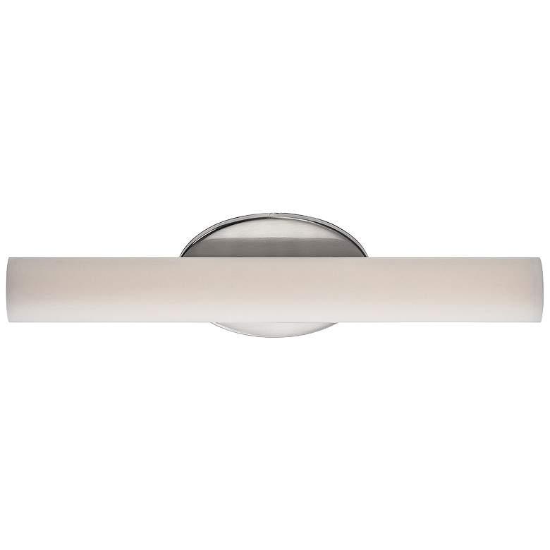 """Modern Forms Loft 18"""" Wide Brushed Nickel LED Bath Light"""