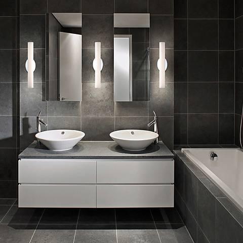 "Modern Forms Loft 18"" Wide Chrome LED Bath Light"